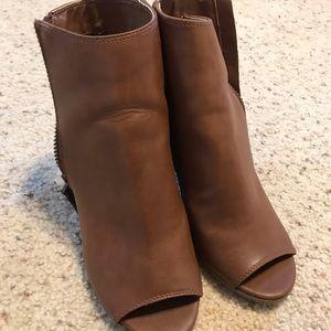 Madden girl peep toe booties
